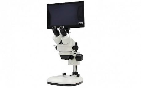 数字通道可选辅助光源体视显微镜 景通仪器